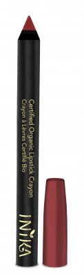 INIKA Organic Certified Organic Lip Crayon – Chilli Red