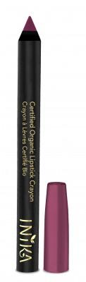 INIKA Organic Certified Organic Lip Crayon – Deep Plum
