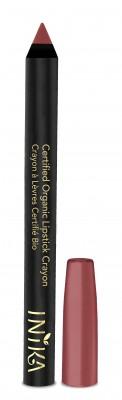 INIKA Organic Certified Organic Lip Crayon – Rose Nude