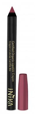 INIKA Organic Certified Organic Lip Crayon – Rose Petal