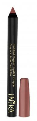 INIKA Organic Certified Organic Lip Crayon – Tan Nude