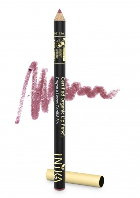 INIKA Organic Certified Organic Lip Liner Pencil - Dusty Rose