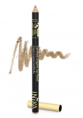 INIKA Organic Certified Organic Lip Liner Pencil - Nude Delight
