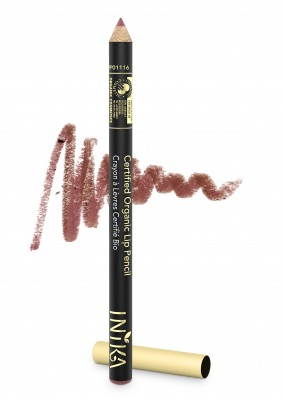 INIKA Organic Certified Organic Lip Liner Pencil - Safari