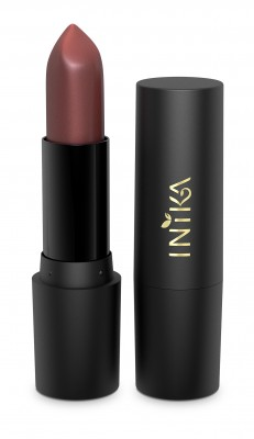INIKA Organic Certified Organic Vegan Lipstick - Pink Poppy