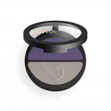 INIKA Organic Pressed Mineral Eye Shadow Duo - Purple Platinum