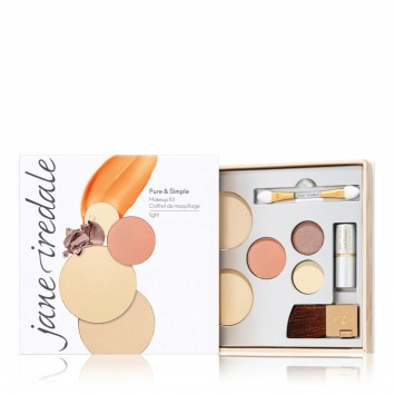 Jane Iredale Pure and Simple Kit Light - Warm Silk
