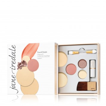Jane Iredale Pure and Simple Kit Medium - Golden Glow