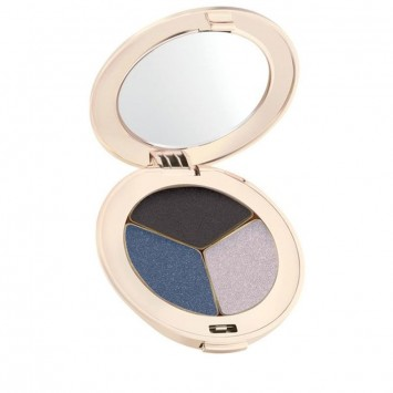 Jane Iredale PurePressed Eye Shadow - Triple - Blue Hour (Part Shimmer)