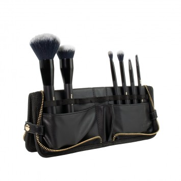 INIKA Organic Vegan Brush Roll 6pc Set